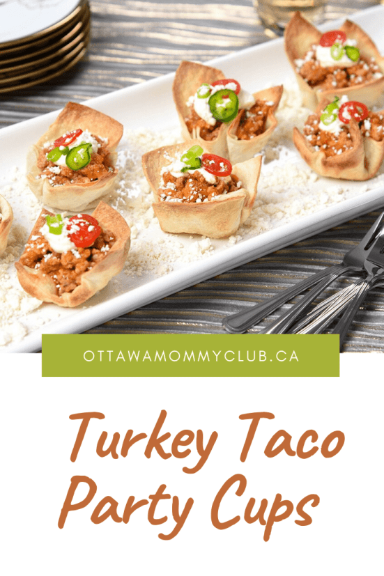 Turkey Taco Party Cups Recipe