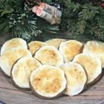Creme Brulee Gingersnap Cookies