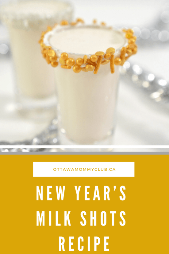 New Year's Milk Shots Recipe
