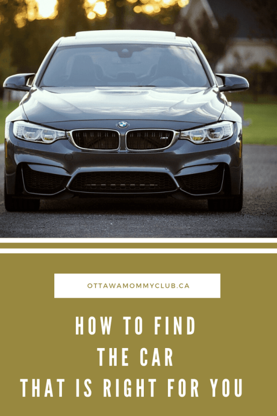 How To Find The Car That Is Right for You