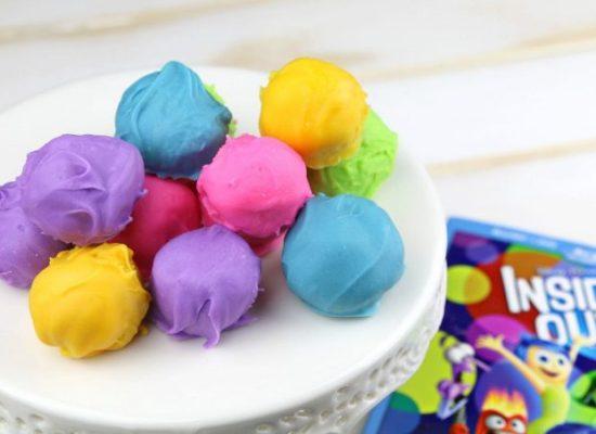 Disney Pixar Inside Out Truffles by Life Family Joy.