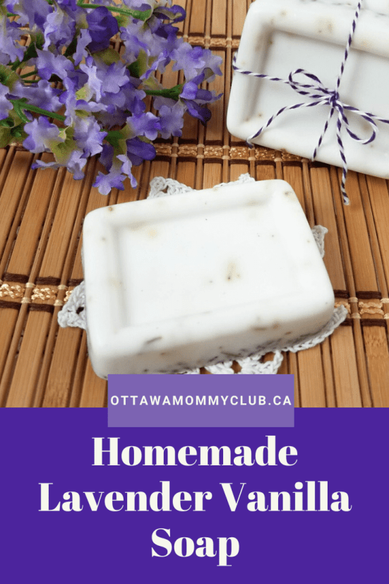 Homemade Lavender Vanilla Soap