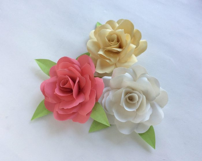 Beautiful Paper Rose Craft Tutorial - Ottawa Mommy Club