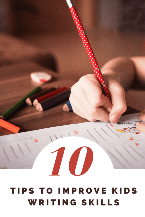 Tips to Improve Kids Writing Skills