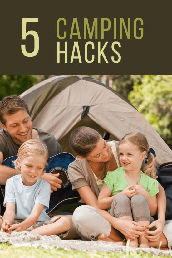 5 Useful Camping Hacks