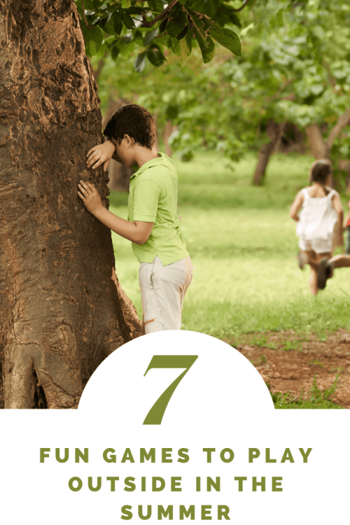 7 Fun Games to Play Outside in the Summer