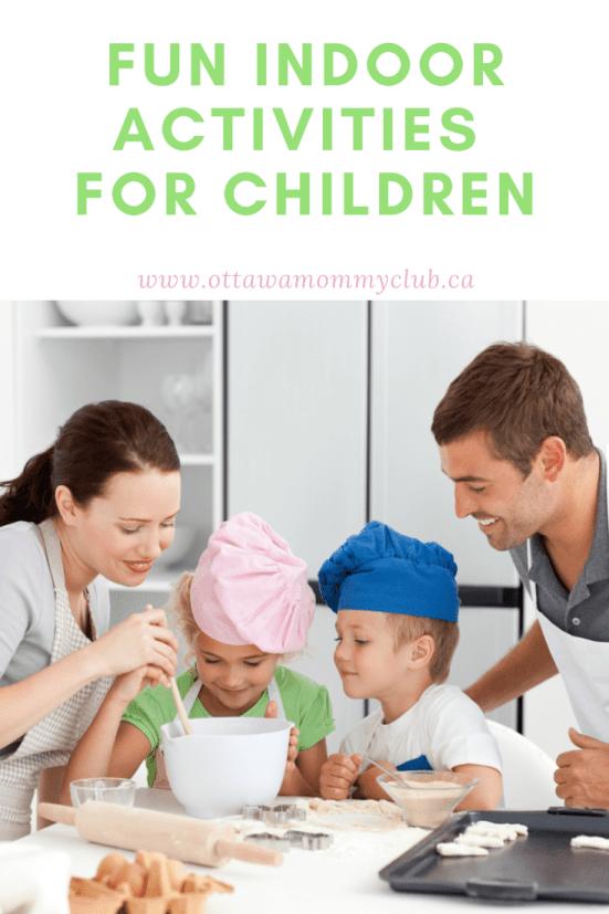 Fun Indoor Activities For Children