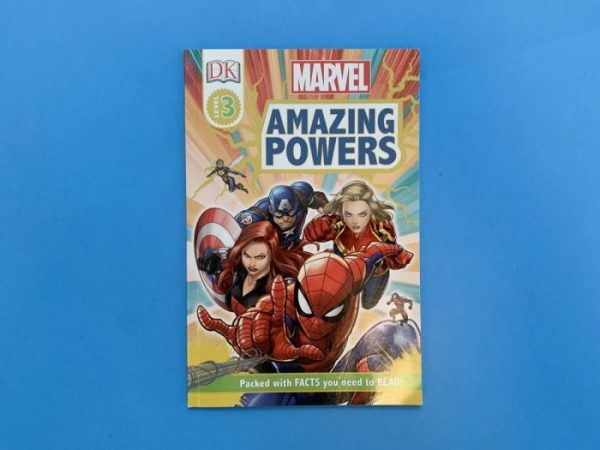 Cover of Marvel Amazing Powers book