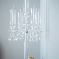 Chair Covers Rental Ottawa Target Dining Tables And Chairs Luxe Crystal Clear Chandelier  Pearl Decor