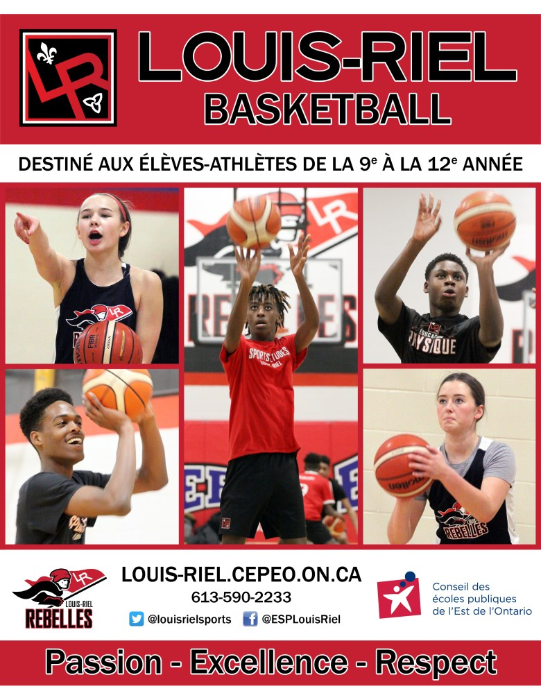 Basketball Sports-Études page couverture