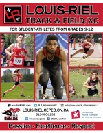 Track & Field XC cover page