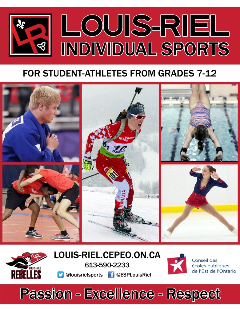 Individual Sports cover page