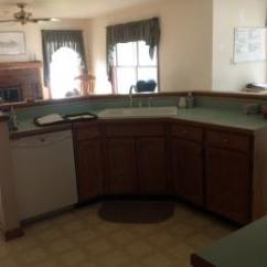 Kitchen Entry Doors White Cabinets Nadeau Remodel Repeat Finished Installation Of New Drywall Paint Vinyl Tile Floor Cabinetry And Solid Surface Countertop There Will Also Be Exterior Installed