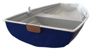 A lovely little 6' pram dinghy rowing boat