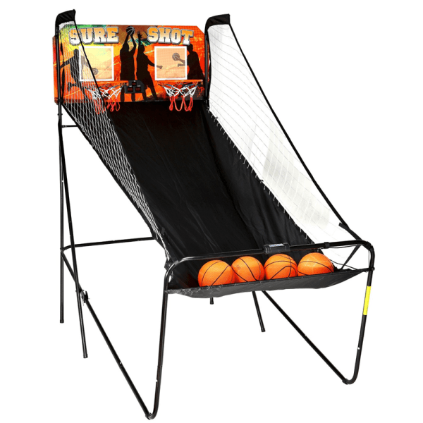 Electronic basket ball