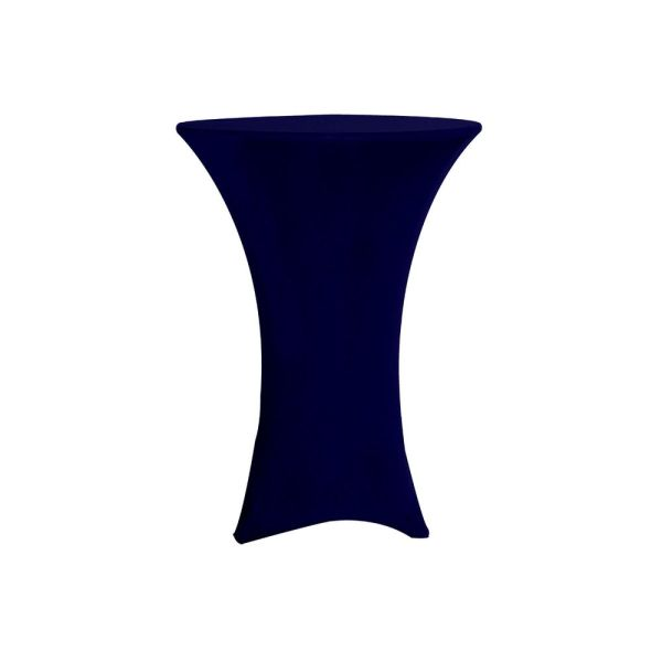 Spandex Black Tablecloth for bar tables