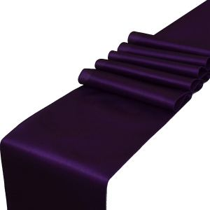 Purple Table Runners