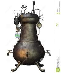 Oil furnace.