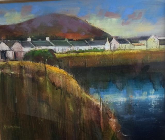Flooded Quarry Oil on Canvas 60cm x 50cm