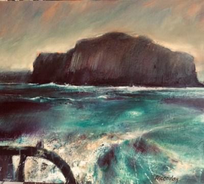 Leaving Staffa Oil on Canvas cm x 50cm