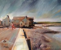 Silted Harbour Oil on Canvas 60cm x 45cm