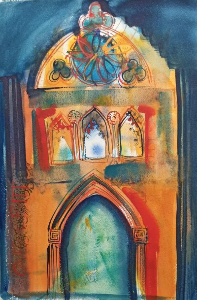 Entrance - Watercolour