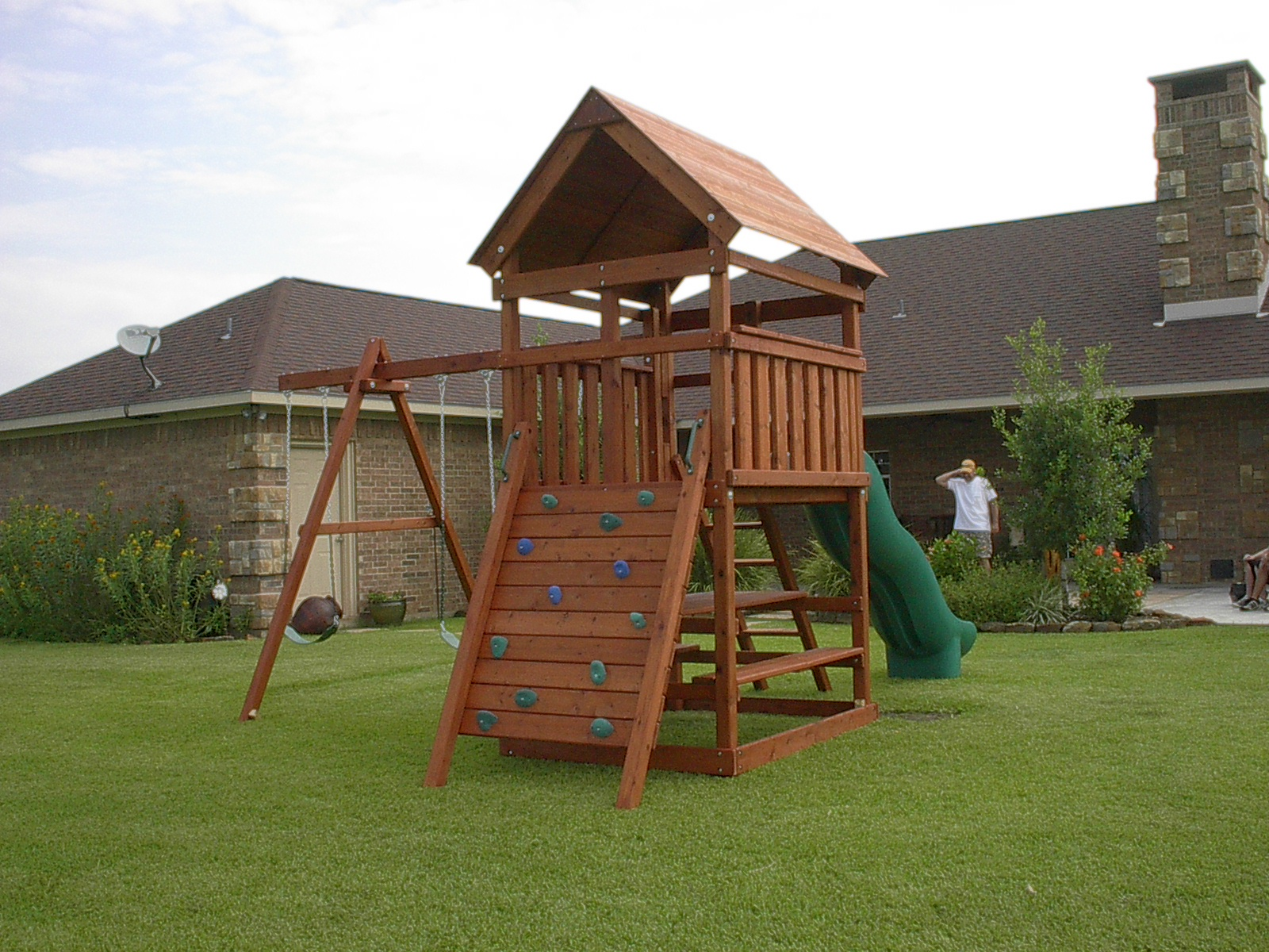 Wood Swing Set Plans Woodworking Plans For Building A