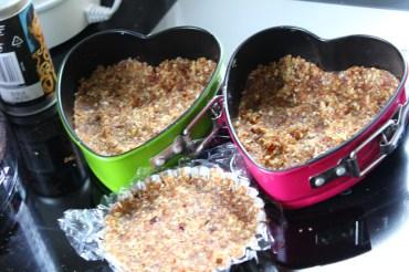 Rohkosttörtchen, herzige Törtchen aus der Rohkostküche, schnell zubereitet und köstlich