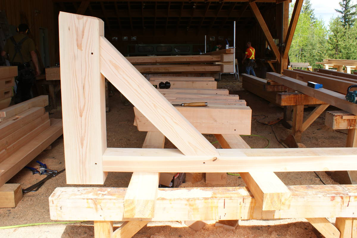 Mortise And Tenon Jig For Timber Frame