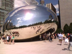 "Cloud Gate, aka ""The Bean"""