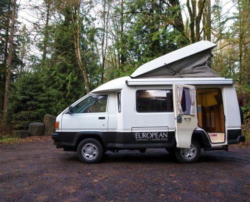 Toyota 4x4 Townace poptop camper