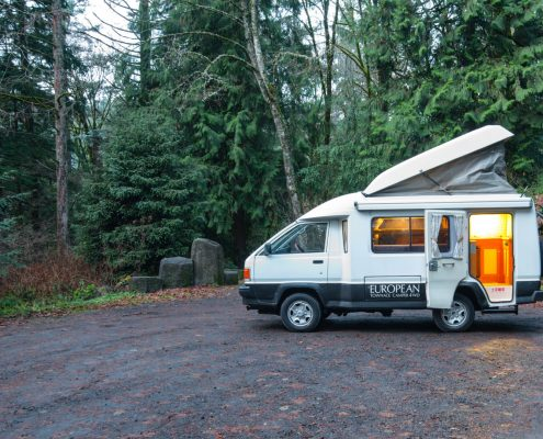 1991 Toyota Townace Camper, Pop top and 4x4 diesel for sale by Ottoex