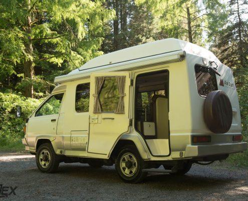 Diesel Toyota 4x4 Pop up camper
