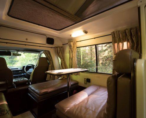 Toyota European Camper Amcraft interior