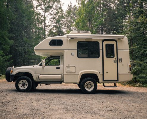 Diesel 4x4 Toyota Sunrader Galaxy Motorhome for sale in Portlnad, Oregon by OttoEx Adventure Vehicles