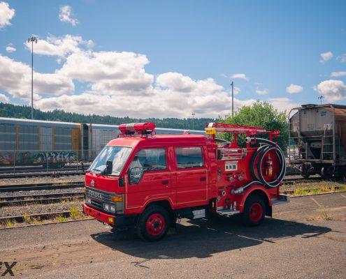 Toyota Dyna Fire Truck 4x4