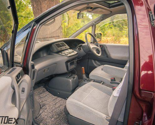 Toyota Emina front seats