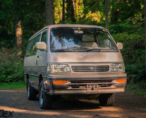 Toyota Hiace 4x4 Van front grill by Ottoex