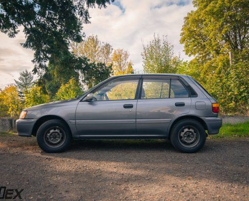 All wheel drive Toyota Starlet