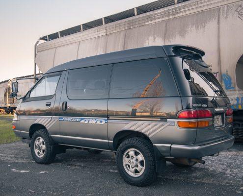 A Toyota 4x4 Townace Diesel Van
