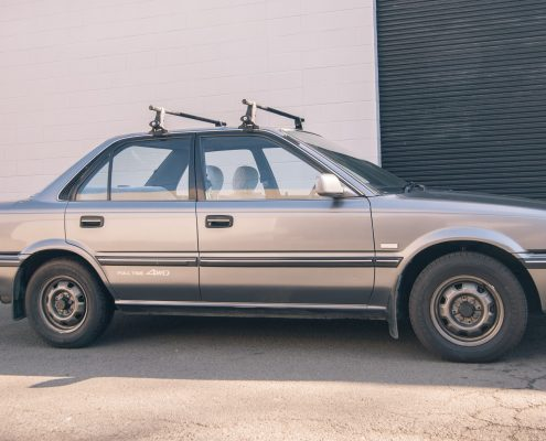 This is a 1991 DIesel Toyota corolla alltrac
