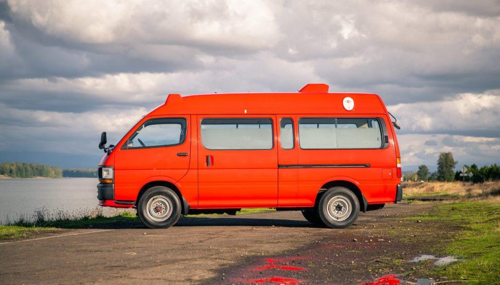 Toyota Hiace 4x4 Ambulance, Toyota Van, 4x4 Toyota Van Portlnad, Oregon Toyota Van