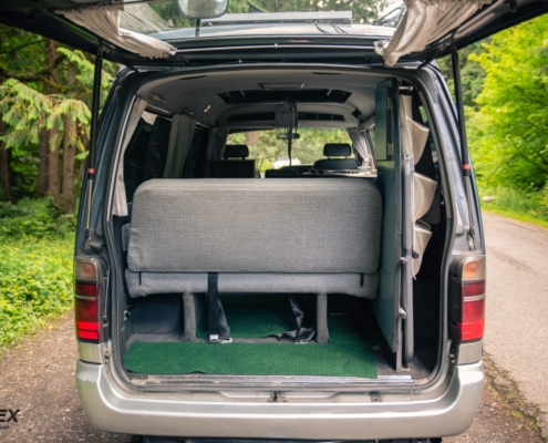 Hiace Cruising Cabin Interior Rear