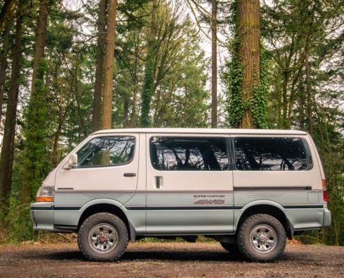 Toyota Hiace 4x4 Van with Lift Kit