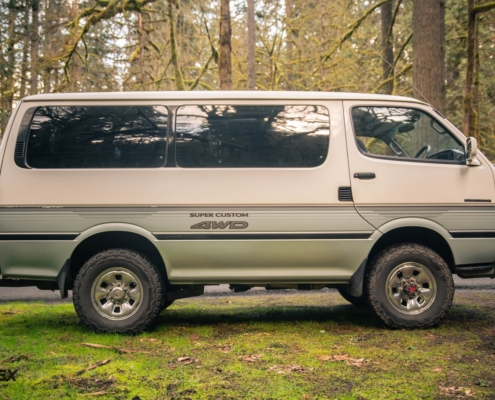 1990 Toyota Hiace 4x4 Van