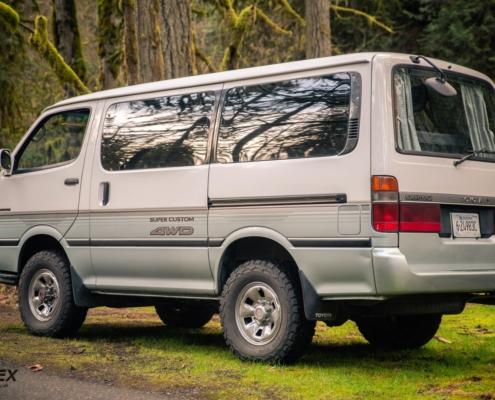 1990 Toyota Hiace 4x4 Lifted