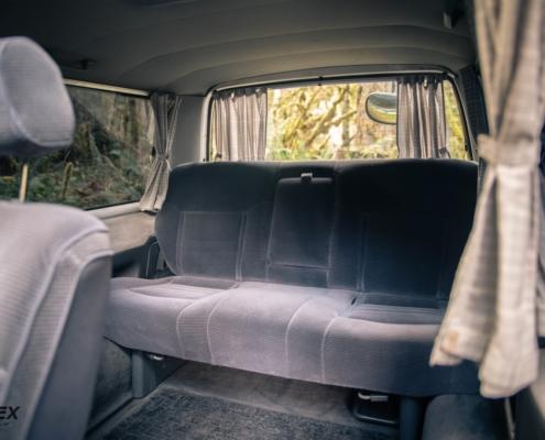 1991 Toyota Hiace Rear Seats
