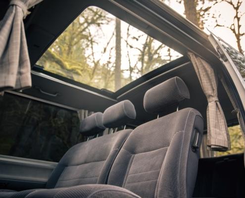 Toyota Hiace 4x4 Interior Sunroof