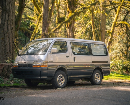 This 1992 Toyota Hiace Super Custom is for sale in Portland Oregon
