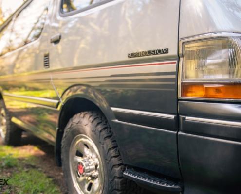 1992 Toyota Hiace Super Custom Decals 1992